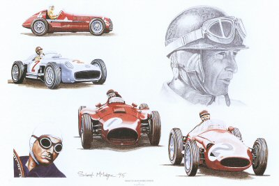 Tribute to Juan Manuel Fangio by Stuart McIntyre