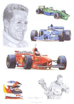 Tribute to Michael Schumacher by Stuart McIntyre.
