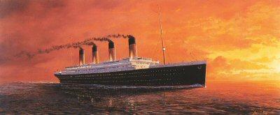 Titanics Last Sunrise by Adrian Rigby.