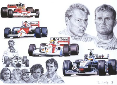 Tribute to McLaren by Stuart McIntyre