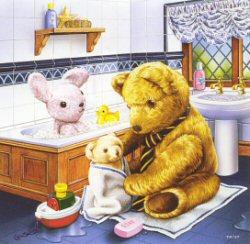 Bath Time by Geoffrey Tristram