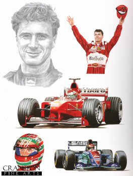 Tribute to Eddie Irvine by Stuart McIntyre.