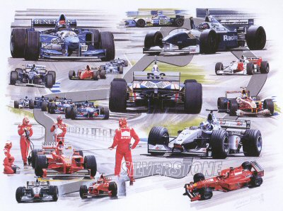 Silverstone by Graham Bosworth