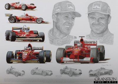 Tribute to Ferrari by Stuart McIntyre.