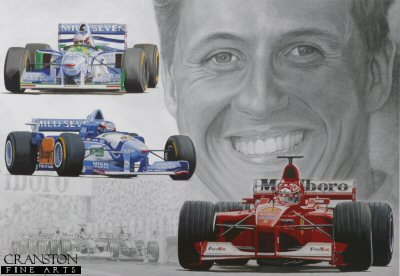 Sporting Legends : Michael Schumacher by Stuart McIntyre.