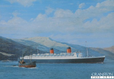 RMS Queen Elizabeth - Fit for a Queen by Gordon Bauwens.