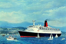 Welcome Home QE2 by Gordon Bauwens.