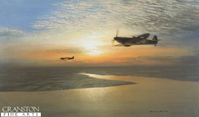 Evening Patrol by Gerald Coulson.