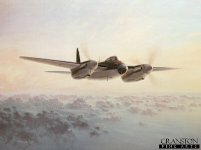 De Haviland Mosquito by Gerald Coulson.