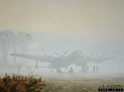 Off Duty Lancaster at Rest by Gerald Coulson.