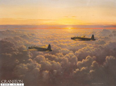 Evening Departure by Gerald Coulson.