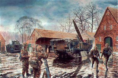 Lance Missile Launcher, 50th Missile Regiment Royal Artillery by David Rowlands (GL)