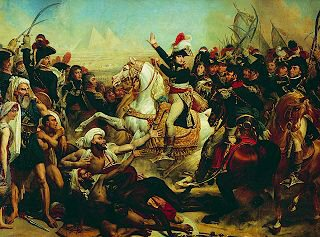 Napoleons Speech to his Army before the Battle of the Pyramids by Antoine-Jean Gros (GL)