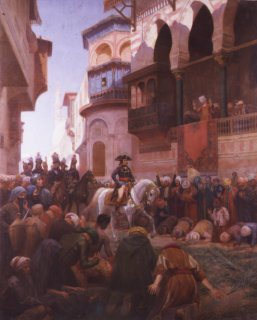 Napoleons Entry into Cairo by Gustave Bourgain. (GS)
