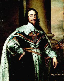 King Charles I after Sir Anthony van Dyck. (GS)