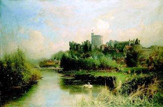 Windsor Castle by Walter H Goldsmith. (GL)