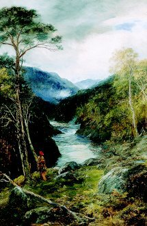 Glen Spey, Scotland by John McWhirter. (GL)
