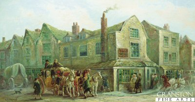 The Hand and Shears, Smithfield, London by John Charles Maggs. (GL)