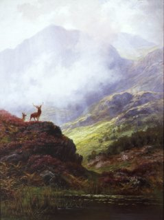 The Monarch Of The Glen by Charles Stuart (GL)