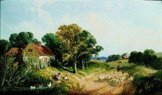 The Farmstead by Edwin L Meadows. (GS)