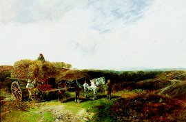 Haymaking by George Vicat Cole (GL)