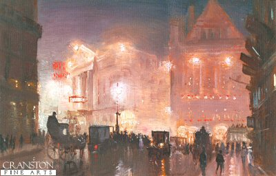 Theatre Time at Drury Lane London by George Hyde Pownall. (GS)