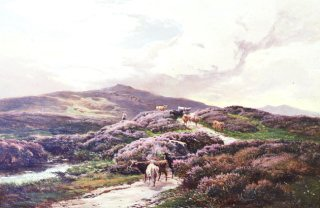 A Highland Landscape, Killin, Perthshire by Richard Sidney Percy (GL)