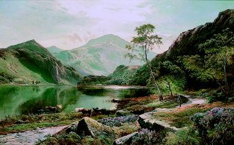 Loch Lomond, 1871 by Richard Sidney Percy. (GS)