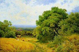 Harvest Time by John Clayton Adams. (GL)