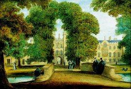 Trinity College, Cambridge by Richard Bankes Harraden. (GL)