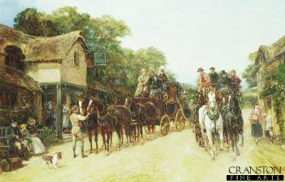 The Three Horseshoes by Heywood Hardy (GL)