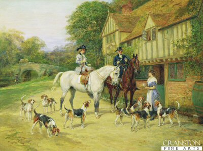 A Halt At The Inn by Heywood Hardy (GS)