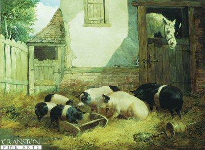 A Family of Pigs by John Frederick Herring SNR (GL)