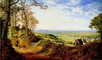 A View of Runnymede and Windsor by Edmund John Niemann. (GS)