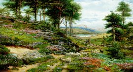 Through the Heather, Dunkeld by George Vicat Cole (GL)