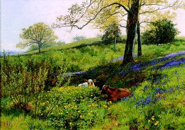 Near Dorking, Surrey by Charles Collins (GS)