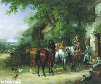 The Horse Fair, At The Swan Inn by Henry and Charles Shayer (GL)