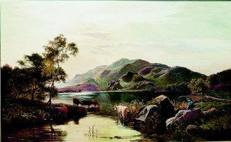 Loch Katrine by Richard Sidney Percy (GL)