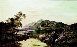 Loch Katrine by Richard Sidney Percy (GS)