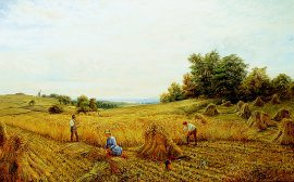 Harvest Time by Alfred Augustus Glendening. (GL)