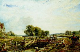 Near Henley on Thames by William W Gosling. (GS)
