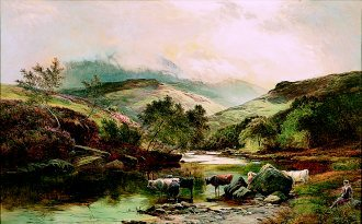 On the Falloch by Richard Sidney Percy (GL)