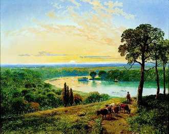 The Valley of the Severn by Edmund John Niemann. (GL)