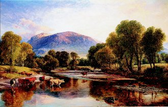 Reflections of a Highland Landscape by Henry Brittan Willis (GL)