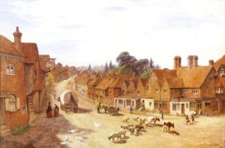 Haslemere, Surrey by George Vicat Cole. (GS)
