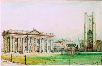 The Senate House, Cambridge by Bradford Rudge. (GS)