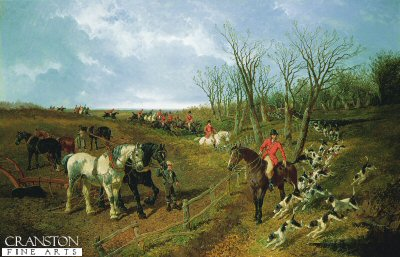 A Good Day with the Hunt by John Frederick Herring (GL)
