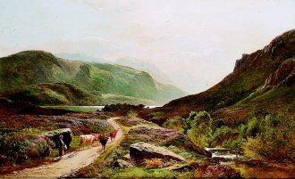 Loch Long by Richard Sidney Percy. (GS)