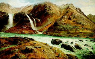 Torrents in the Highlands by Charles Jones. (GS)