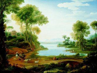 A Classical Landscape by Henrik van Lint. (GL)